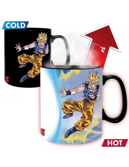 Dragon Ball Z - Goku vs Buu - Mug Thermoréactif Mug multicolore