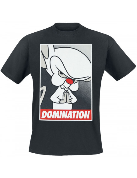 Animaniacs Minus et Cortex - Domination T-shirt noir