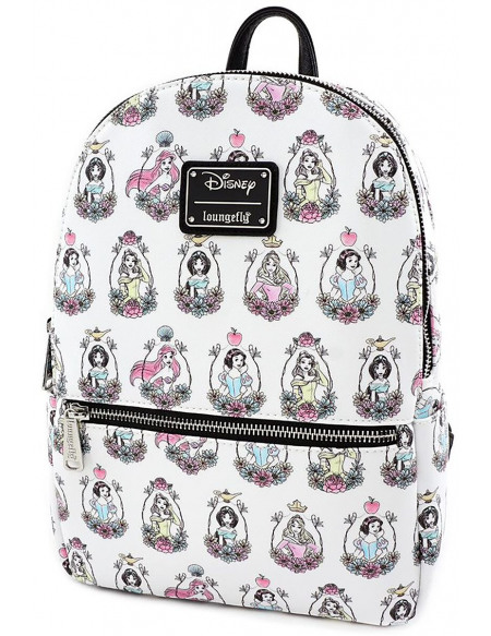 Princesses Disney Loungefly - Prinzessinnen Sac à Dos multicolore