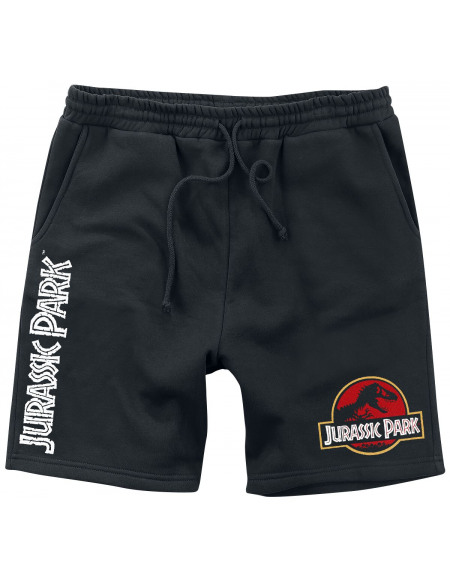 Jurassic Park Logo Short noir