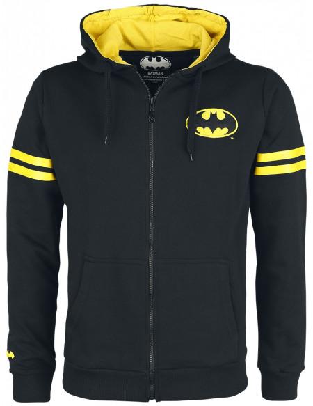 Batman Gotham City Defender Sweat Zippé à Capuche noir