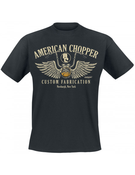 American Chopper Handlebar T-shirt noir
