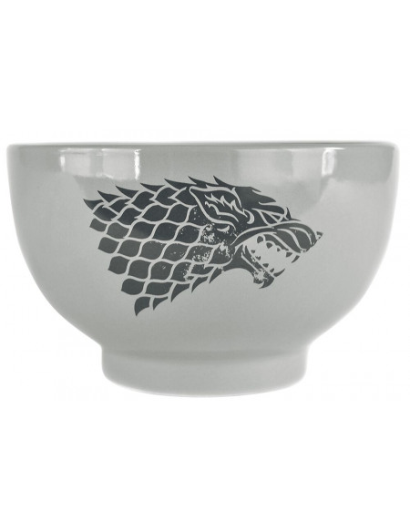Game Of Thrones Maison Stark Bol céréales blanc/gris