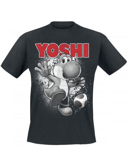 Super Mario Yoshi - Ride T-shirt noir