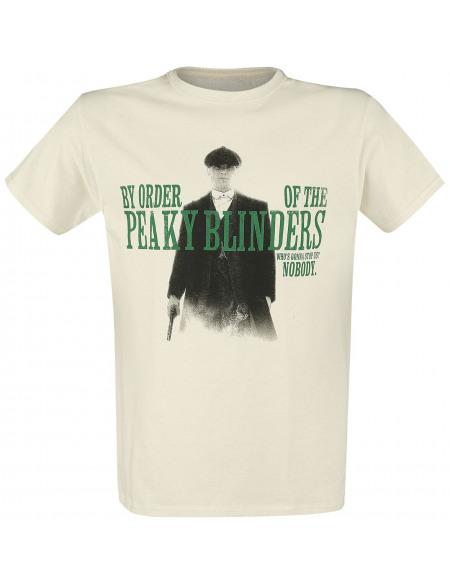 Peaky Blinders Nobody Gonna Stop Us T-shirt beige