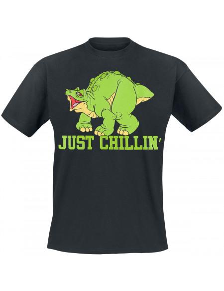 Le Petit Dinosaure Et La Vallée Des Merveilles Just Chillin T-shirt noir