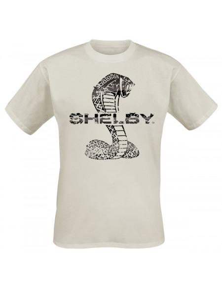 Shelby Cracked Snake T-shirt beige