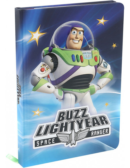 Toy Story Buzz Box Cahier multicolore