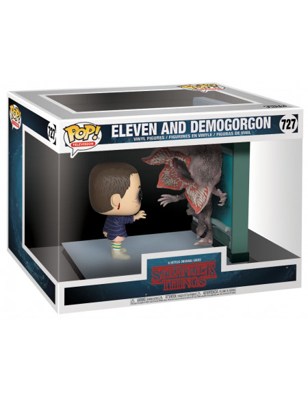 Stranger Things Onze & Demogorgon - Funko Pop! Movie Moments n°727 Figurine de collection Standard