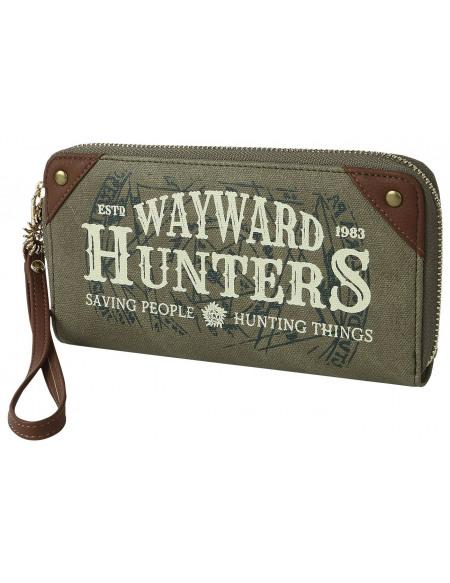 Supernatural Wayward Hunters Portefeuille vert