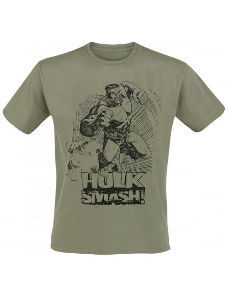 Avengers Hulk Smash! T-shirt vert foncé