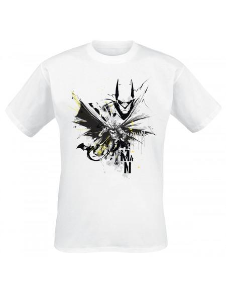 Batman Splash T-shirt blanc
