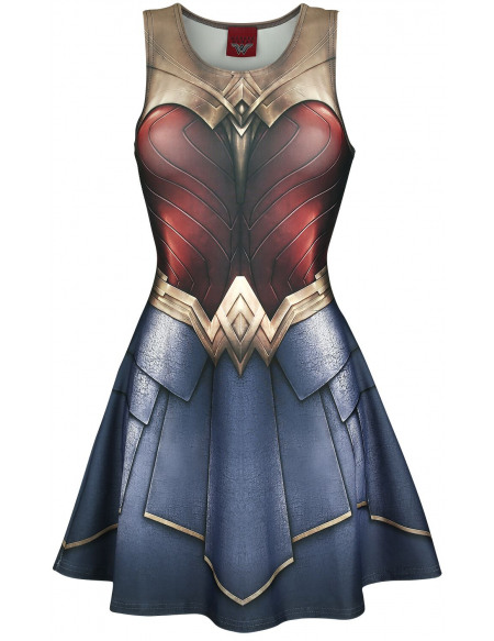 Wonder Woman Wild Bangarang - Cosplay Robe multicolore