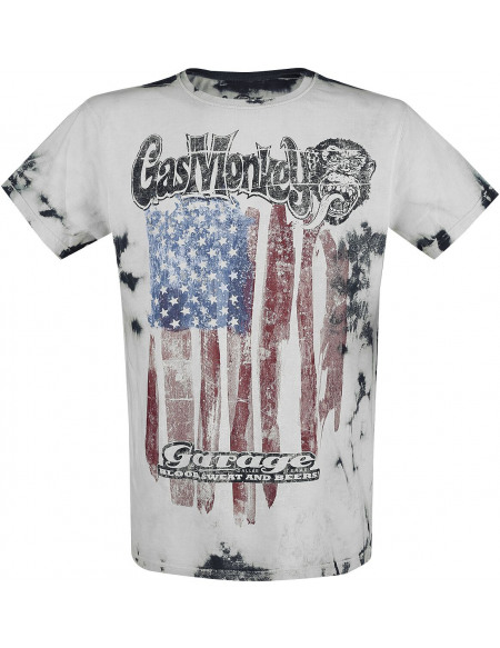 Gas Monkey Garage American Garage T-shirt blanc