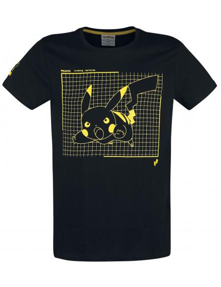 Pokémon Pikachu T-shirt noir