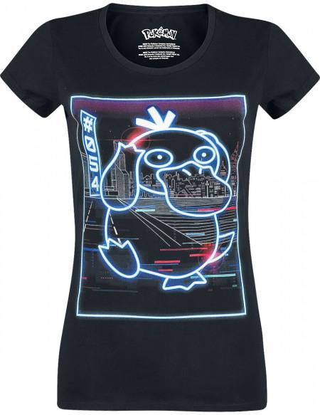 Pokémon Psykokwak - Néon T-shirt Femme noir