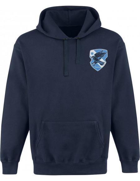 Harry Potter House Ravenclaw Sweat à capuche bleu foncé
