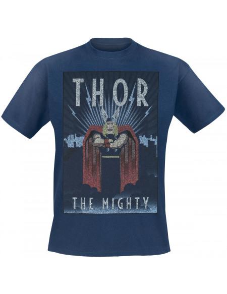 Thor The Mighty T-shirt marine