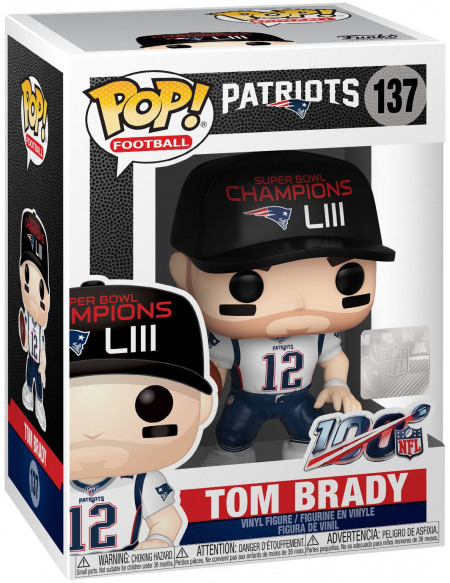 NFL Patriots - Tom Brady - Funko Pop! n°137 Figurine de collection Standard