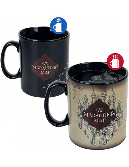 Harry Potter La Carte du Maraudeur - Mug Thermoréactif Mug multicolore