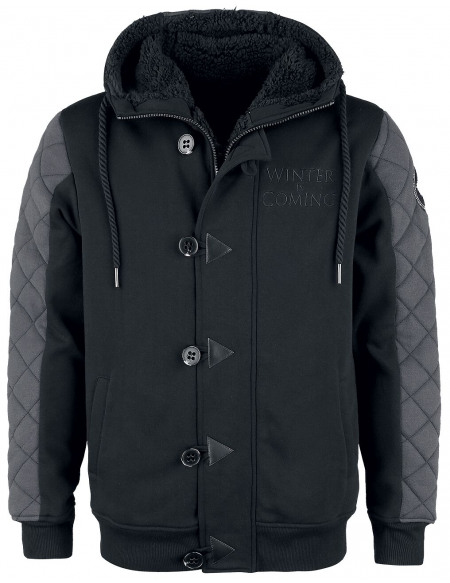 Game Of Thrones Winter Is Coming Veste noir/gris foncé