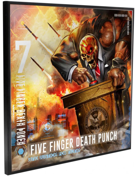 Five Finger Death Punch Justice for None - Crystal Clear Picture Photo murale Standard