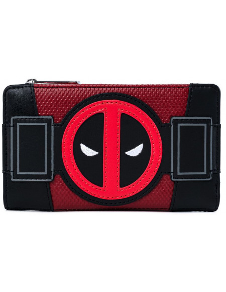 Deadpool Loungefly - Merc with a Mouth Portefeuille noir/rouge