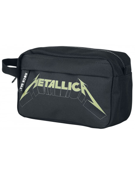 Metallica Logo Trousse de Toilette noir