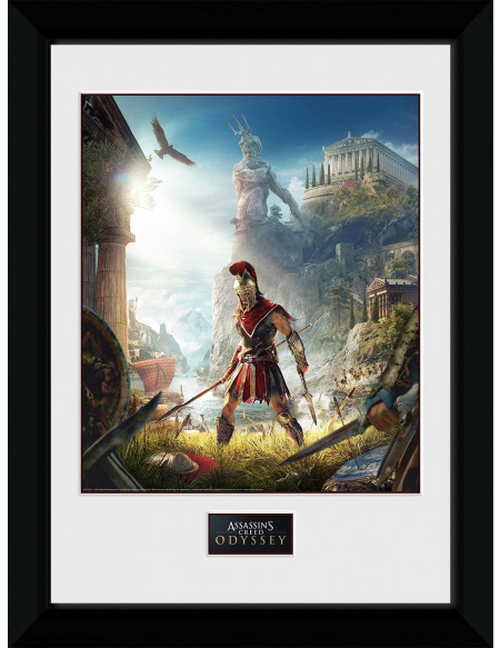 Assassin's Creed Odyssey - Key Art Photo encadrée Standard
