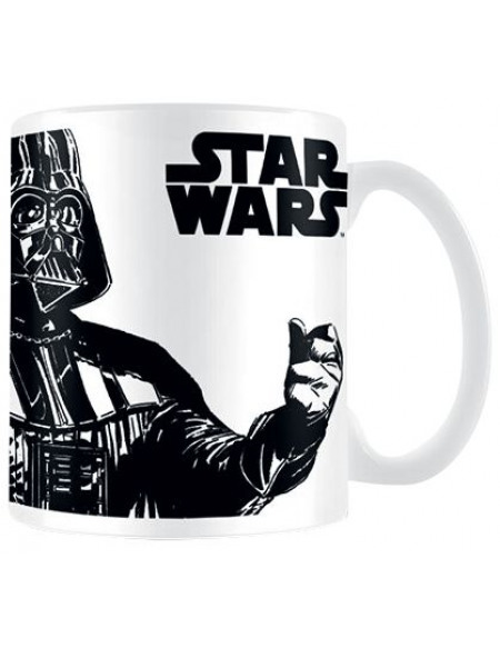 Star Wars You Underestimate The Power Of Coffee Mug blanc