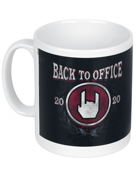 Back To Office Mug blanc