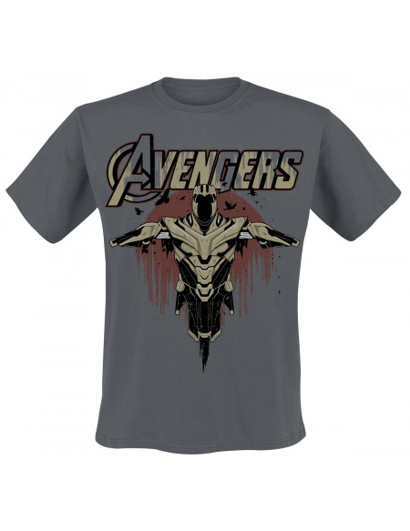 Avengers Built For Battle T-shirt gris