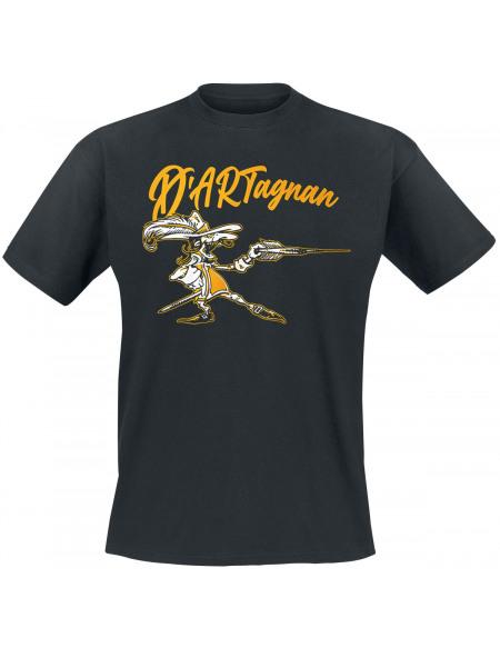 Darts D'artagnang T-shirt noir