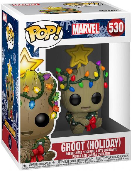 Figurine Funko Pop Marvel Holiday Groot