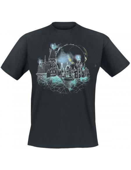 Harry Potter Poudlard T-shirt noir