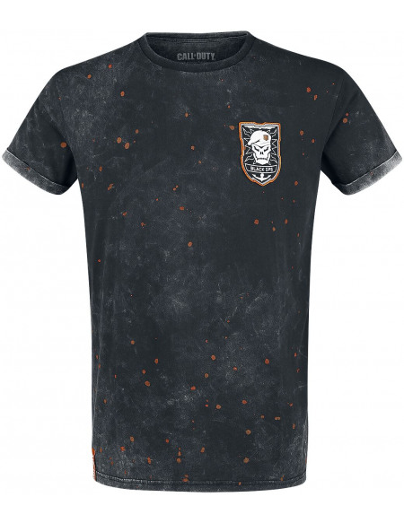 Call Of Duty Black Ops 4 T-shirt gris