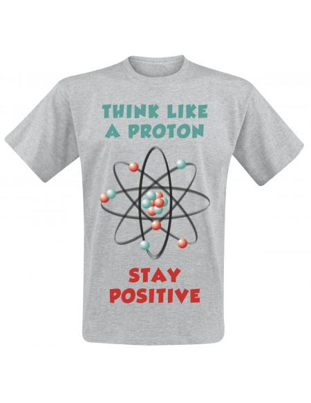 Proton T-shirt gris chiné