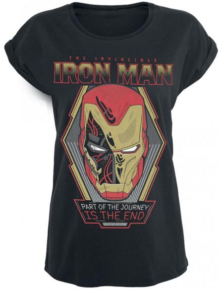 Avengers Endgame - Iron Man - Part Of The Journey T-shirt Femme noir