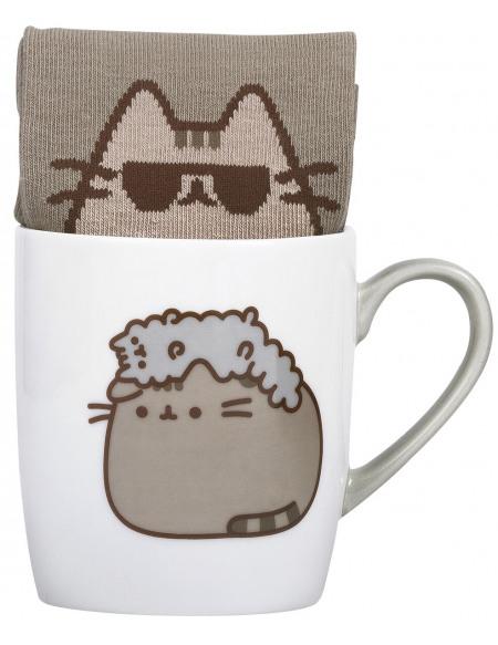 Pusheen Pusheen and Stormy - Mug with Socks Mug multicolore