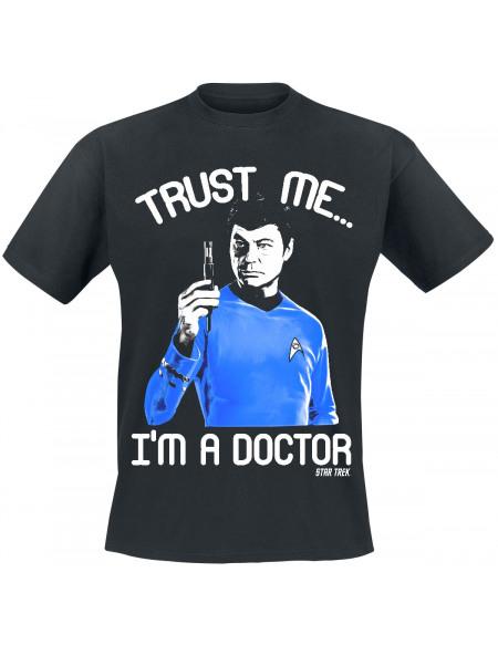 Star Trek Trust Me, I´m A Doctor T-shirt noir