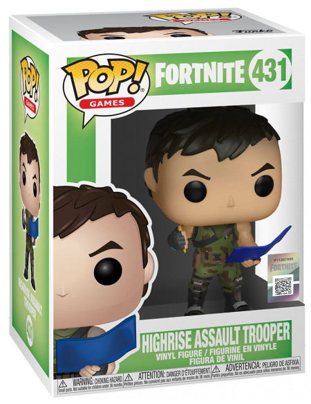 Fortnite Tireur Des Gratte-Ciels - Funko Pop! n°431 Figurine de collection Standard