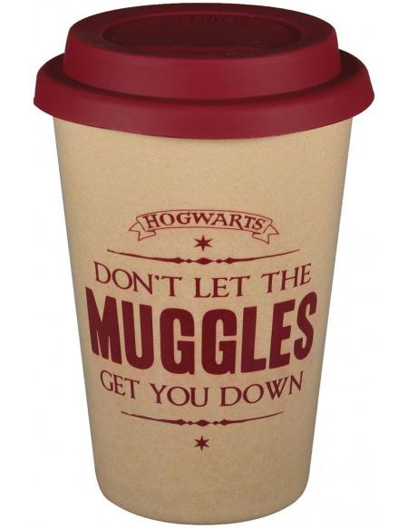 Harry Potter Muggles - Mug de Voyage Mug isotherme beige