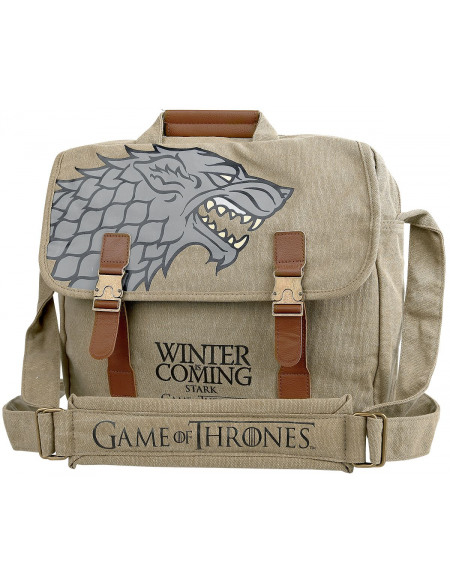 Game Of Thrones Maison Stark Besace beige