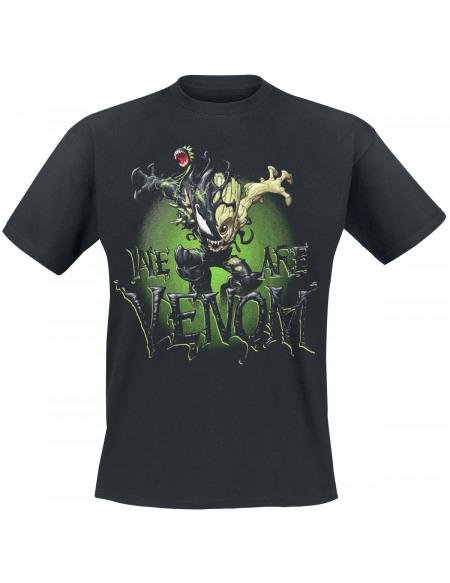 Marvel Venomized Groot T-shirt noir
