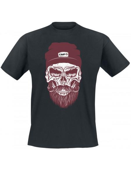 Skull T-shirt noir