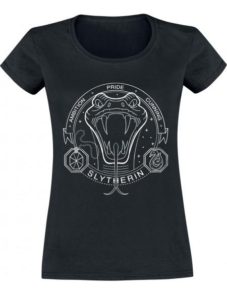 Harry Potter Serpentard - Sceau T-shirt Femme noir