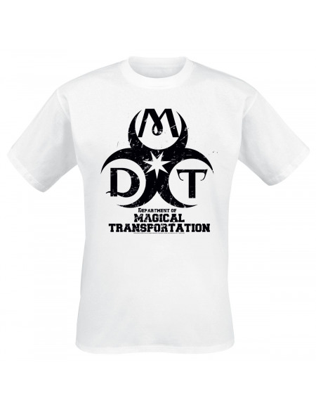 Harry Potter Departement Of Magical Transportation T-shirt blanc
