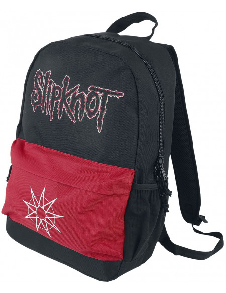 Slipknot Wanyk Star Red Sac à Dos noir