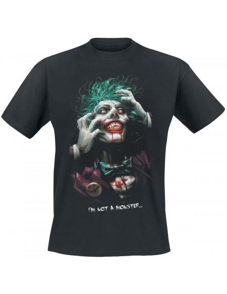 Batman The Joker - I Am Not A Monster T-shirt noir