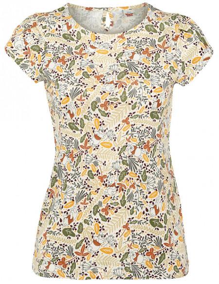 Winnie l'Ourson Feuilles D'Automne T-shirt Femme multicolore